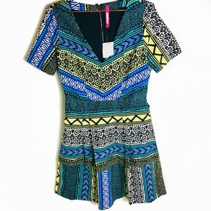 NWT Anthro Plenty by Tracy Reese Printed Dress 8